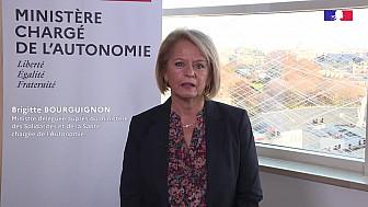 Mme la ministre Brigitte Bourguignon soutient les professionnels
